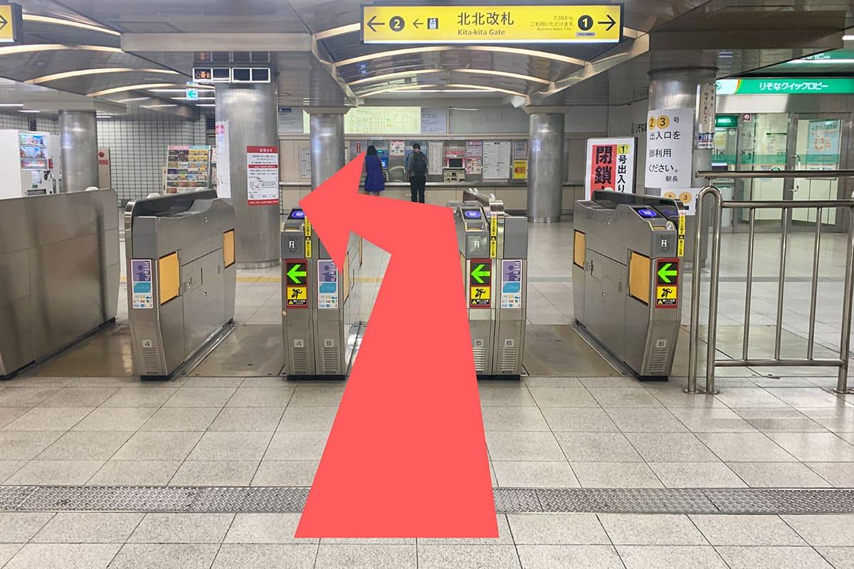 御堂筋線 本町駅からの道順